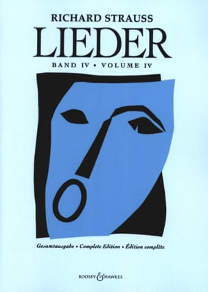 Richard Strauss - Lieder Volume 4 - Full Score - Partition - di-arezzo.fr