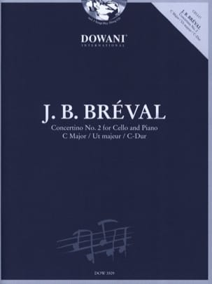 Jean-Baptiste Bréval - Concertino N ° 2 in Ut Maj. - Sheet Music - di-arezzo.co.uk