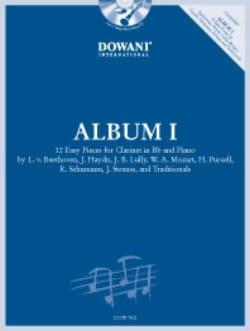 Album I - Clarinette Partition Clarinette - laflutedepan