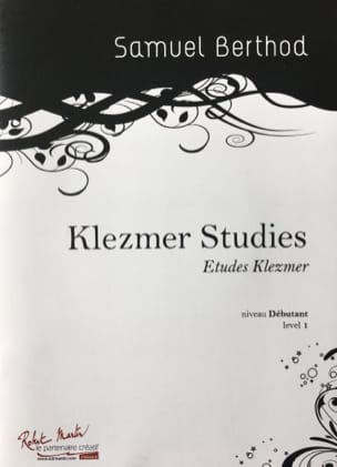 Samuel Berthod - Klezmer Studies - Sheet Music - di-arezzo.co.uk