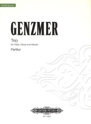 Trio Flûte-Hautbois et Piano - Harald Genzmer - laflutedepan.com