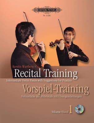 Recital Training Volume 1 Kerstin Wartberg Partition laflutedepan