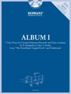 - Album 1 Pour Flûte à Bec Soprano - Partition - di-arezzo.fr