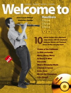 - Welcome to Hautbois - Volume 1 - Partition - di-arezzo.fr