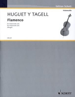 Rogelio Huguet Y Tagell - Flamenco - Solo Cello - Partition - di-arezzo.de