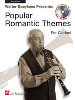 Popular Romantic Themes - Clarinet - laflutedepan.com