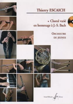 Thierry Escaich - Choral Varié En Hommage A Js Bach - Conducteur - Partition - di-arezzo.fr