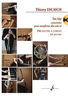 Thierry Escaich - Sax Trip Concertino - Conducteur - Partition - di-arezzo.fr