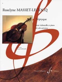 Triptyque - Roselyne Masset-Lecocq - Partition - laflutedepan.com