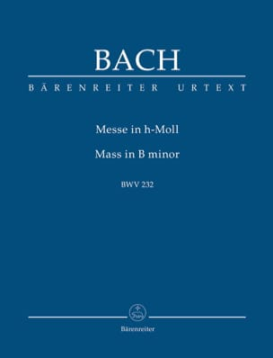 BACH - Mass in B minor BWV 232 - Sheet Music - di-arezzo.com