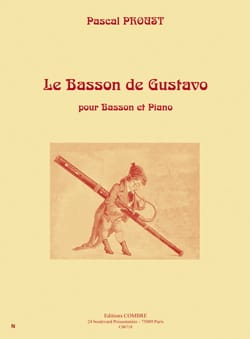 Pascal Proust - The Bassoon of Gustavo - Sheet Music - di-arezzo.com