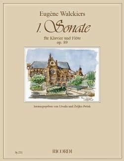 Eugene Walckiers - Sonata No. 1 Op. 89 - Flute and Piano - Sheet Music - di-arezzo.com