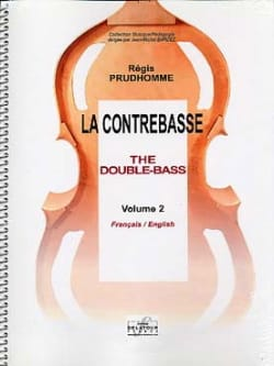 Régis Prud'homme - La Contrebasse Vol.2 - Partition - di-arezzo.fr
