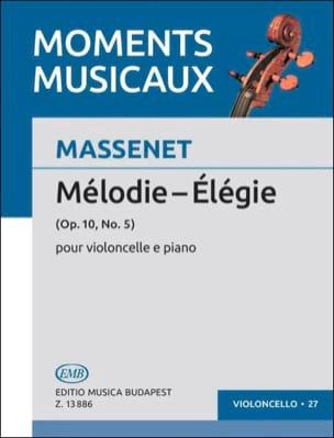 Jules Massenet - Elegy - Sheet Music - di-arezzo.co.uk