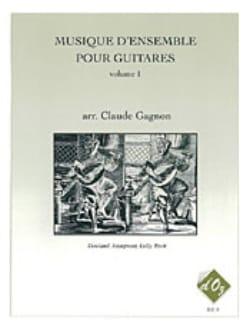 Musique d'Ensemble pour Guitares Volume 1 - laflutedepan.com