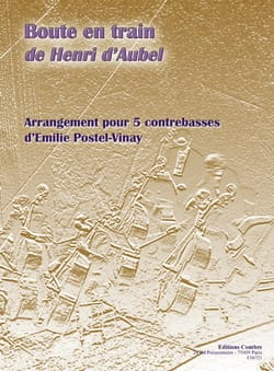 Boute En Train Aubel Henri D' Partition Contrebasse - laflutedepan