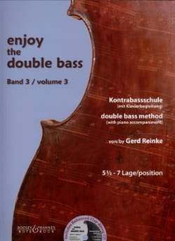 Gerd Reinke - Enjoy The Double Bass Vol.3 - Accompagnement - Partition - di-arezzo.fr
