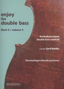 Enjoy The Double Bass Vol. 4 - Gerd Reinke - laflutedepan.com