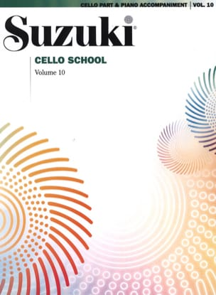 suzuki - Cello School Volume 10 - Partition - di-arezzo.fr
