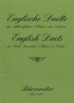 - English Duette (43 Compositions) - Partition - di-arezzo.fr
