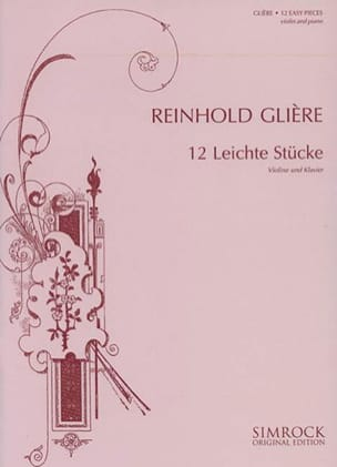Reinhold Glière - 12 Easy Pieces Op.45 - Sheet Music - di-arezzo.com