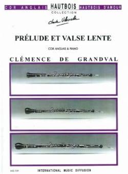 Clémence De Grandval - Prelude and slow waltz - Sheet Music - di-arezzo.co.uk