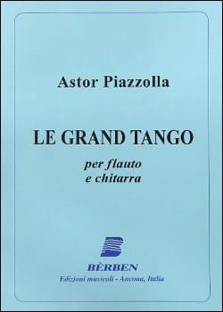 Le Grand Tango - Flûte et guitare - Astor Piazzolla - laflutedepan.com