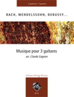 Musique pour Trois Guitares - Partition - laflutedepan.com