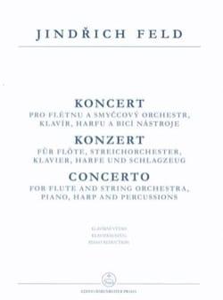 Jindrich Feld - Concerto For Flute - Flûte et Piano - Partition - di-arezzo.fr