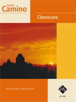 Xavier Camino - Claroscuro - Partition - di-arezzo.fr