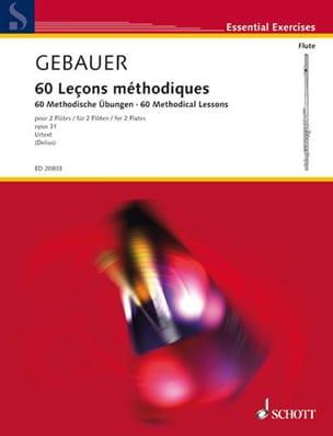Etienne-François Gebauer - 60 Methodische Lektionen Opus 31 - Noten - di-arezzo.de