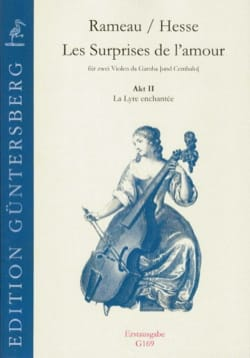Rameau Jean-Philippe / Hesse ludwig christian - The Surprises of Love - Act 2 - The Enchanted Lyre - Sheet Music - di-arezzo.com