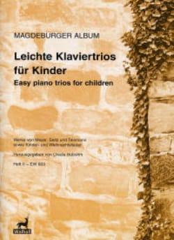 Leichte Klaviertrios Für Kinder - Book 2 Partition laflutedepan