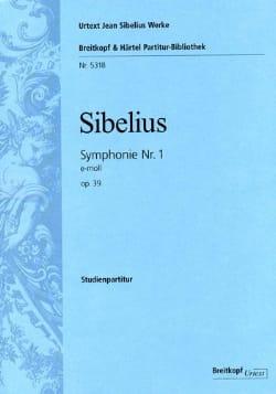 Symphonie N° 1 SIBELIUS Partition Petit format - laflutedepan