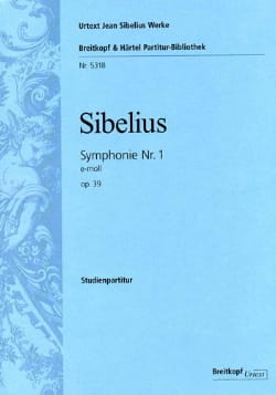 Jean Sibelius - Symphonie N° 1 Opus 39 en Mi Min. - Partition - di-arezzo.fr