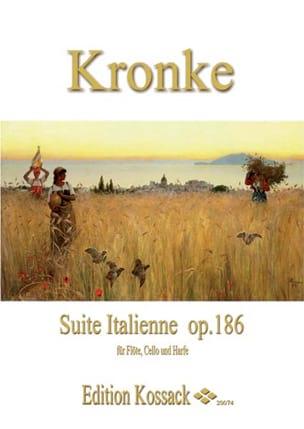 Emil Kronke - Suite Italienne Op.186 - Partition - di-arezzo.fr