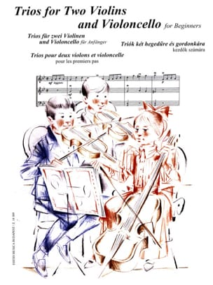 Andras Soos - Trios 2 Violins and Cello for the First Steps - Sheet Music - di-arezzo.com