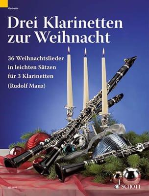 Drei Klarinetten Zur Weihnacht - Rudolph Mauz - laflutedepan.com