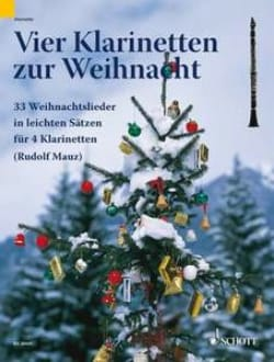 Rudolf Mauz - Vier Klarinetten zur Weihnacht - Sheet Music - di-arezzo.co.uk