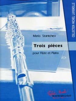 3 Pièces - Mario Stantchev - Partition - laflutedepan.com
