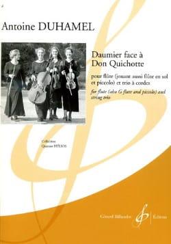 Daumier Face A Don Quichotte - Antoine Duhamel - laflutedepan.com