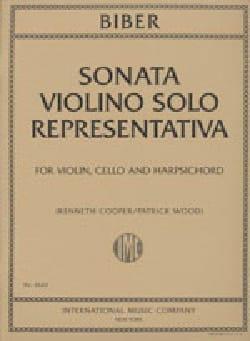 Sonata Violino Solo Representativa 1669 laflutedepan