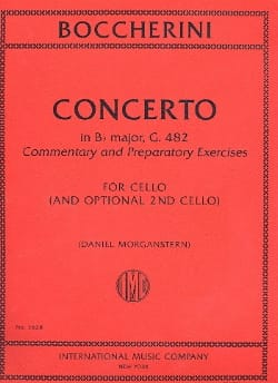 BOCCHERINI - Concerto Sib Maj. - G. 482 - Sheet Music - di-arezzo.co.uk