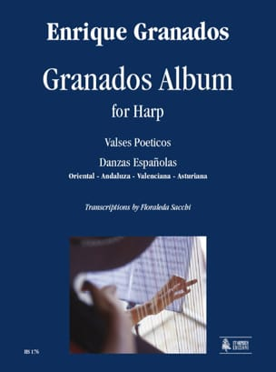 Granados Album For Harp GRANADOS Partition Harpe - laflutedepan