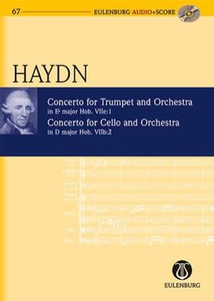 Concerto Trompette Mib Maj. Hob.7e:1 & Concerto Cello Ré Maj. Hob.7b:2 - laflutedepan.com