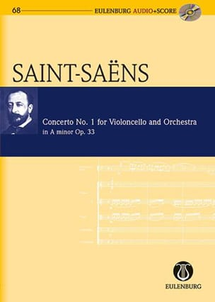 Camille Saint-Saens - Cello Concerto N ° 1 Op.33 In the Min. - Sheet Music - di-arezzo.co.uk