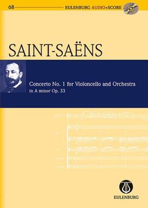 Camille Saint-Saens - Concerto per violoncello n. 1 Op.33 In the Min. - Partitura - di-arezzo.it
