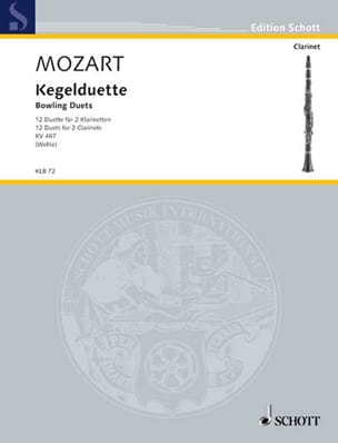 MOZART - Kegelduette Kv 487 - Sheet Music - di-arezzo.co.uk