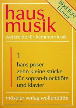 Hans Poser - 10 Kleine Stücke - Sheet Music - di-arezzo.co.uk