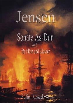 Niels Peter Jensen - Sonate Lab Maj. Op.6 - Partition - di-arezzo.fr